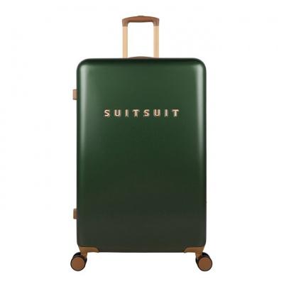 Foto van Koffer SuitSuit Fab Seventies 76 cm Beetle Green