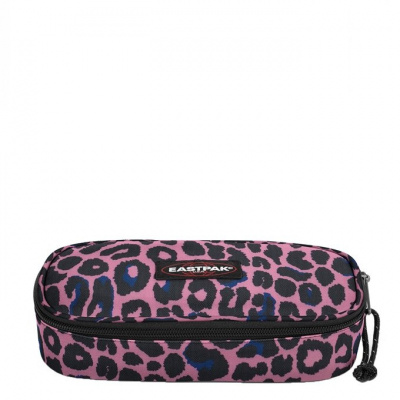 Foto van Pennenetui Eastpak Oval Single Safari Leopard