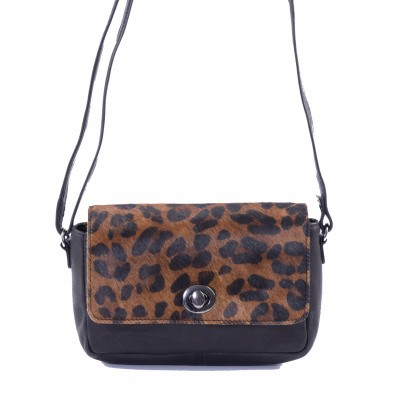 DSTRCT Wild and Free Crossbody Dark Leopard