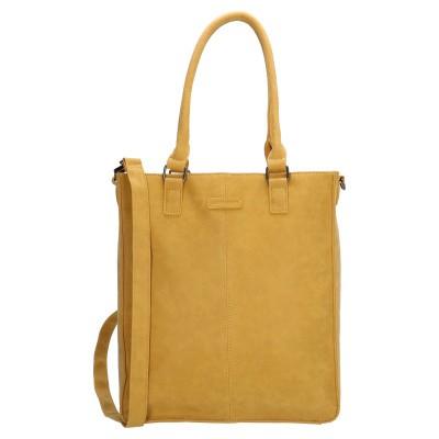 """Shopper Enrico Benetti 15"""" Metz Oker geel"""