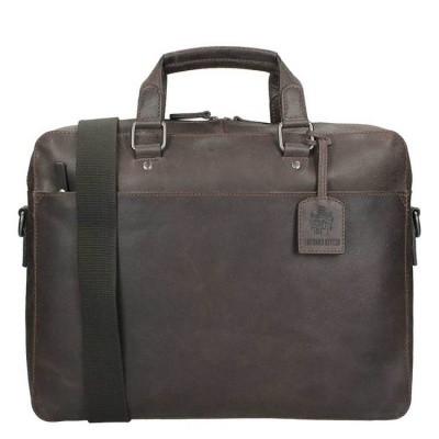 Briefcase Leonhard Heyden Dakota 1 Compartment brown