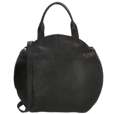 Ronde Shopper Micmacbags 18041-001 Zwart