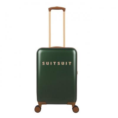 Foto van Koffer SuitSuit Fab Seventies 55 cm Handbagagekoffer Beetle Green