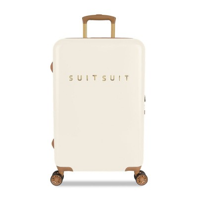 Foto van Koffer SuitSuit Fab Seventies 66 cm Antique White