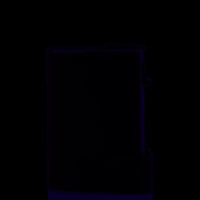 Kaarthouder Tony Perotti Furbo met Bankbiljet-en kleingeldvak Zwart