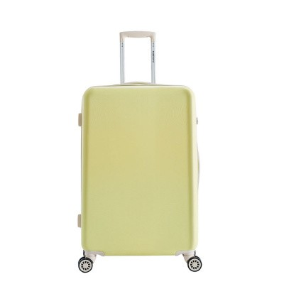 Foto van Koffer Decent Star-Maxx Trolley 66 Pastel Yellow