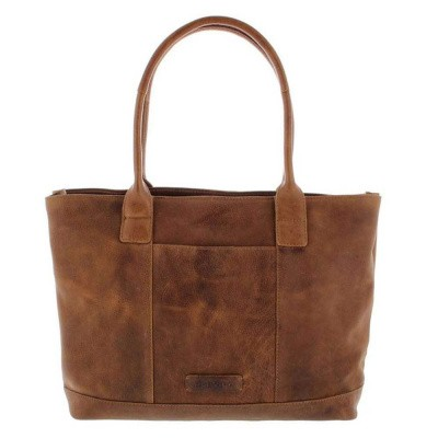 Plevier Business/laptop damestas 14 inch Cognac