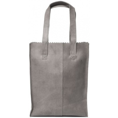 Schoudertas MYOMY My Paper Bag Long Handle Zip Elephant Grey