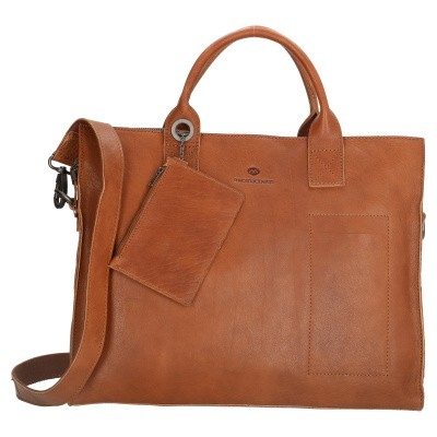 Laptoptas Micmacbags 17353 Cognac