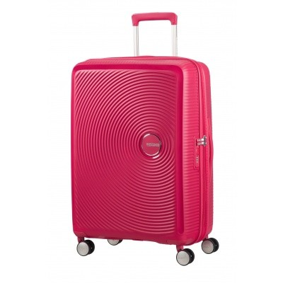 American tourister SOUNDBOX SPINNER 67/24 TSA EXP LIGHTNING PINK