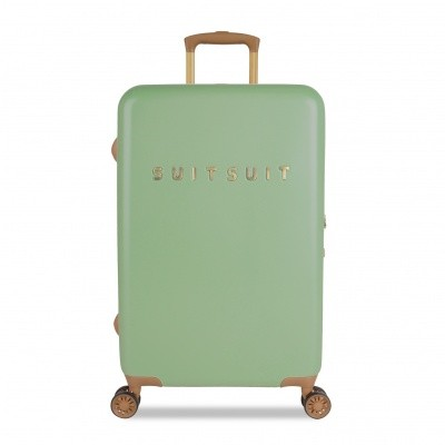 Foto van Koffer SuitSuit Fab Seventies 66 cm Basil Green