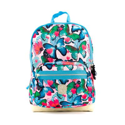 Kinderrugtas Pick & Pack Beautiful Butterfly M Multi Pastel