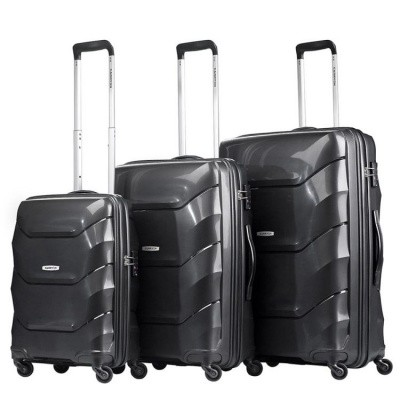 Foto van CarryOn Trolleyset 3pcs Porter 2.0 Black