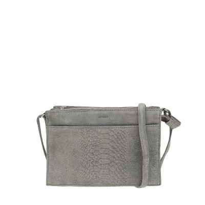 Foto van DSTRCT Portland Road Crossbody Zippers Grey