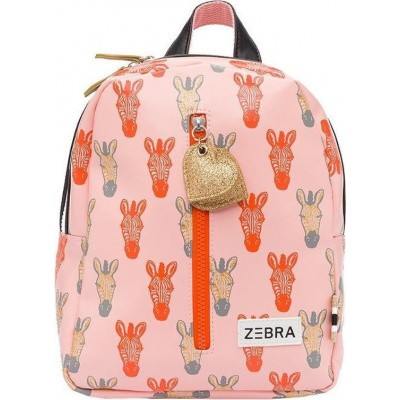 Rugtas (S) Zebra Peach-Gold