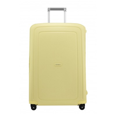 Samsonite S' Cure Spinner 75/28 Pastel Yellow Stripes