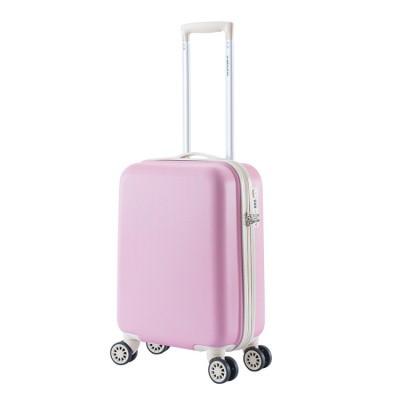 Foto van Handbagage Koffer Decent Star-Maxx Trolley 55 Pastel Pink