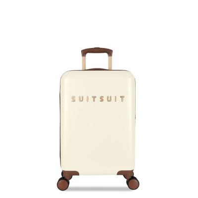 Foto van Koffer SuitSuit Fab Seventies 55 cm Handbagagekoffer Antique White