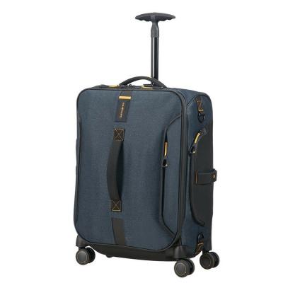 Foto van Handbagage Koffer Samsonite Paradiver Light Spinner Duffle 55 Jeans Blue