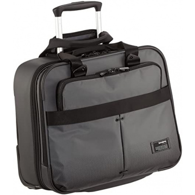 Samsonite CITYVIBE rolling tote 16 inch ASH GREY