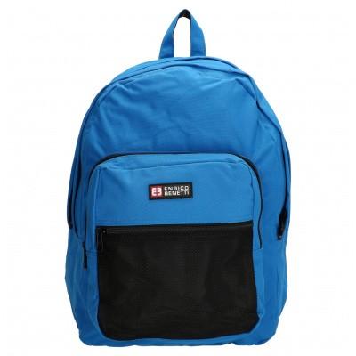 Laptop Rugzak Enrico Benetti 54233078 Sky Blauw