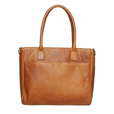 DSTRCT Wax Lane Handbag Cognac