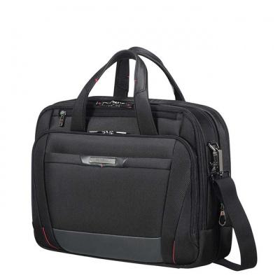 Foto van Samsonite Pro-DLX 5 Laptop Bailhandle 15.6'' Expandable Black