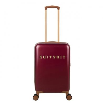 Foto van Koffer SuitSuit Fab Seventies 55 cm Handbagagekoffer Biking Red