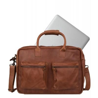 Foto van Cowboysbag The College Bag Cognac