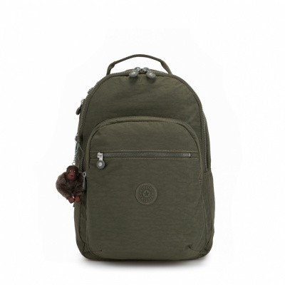Kipling Clas Seoul L Jaded Green C