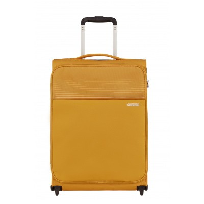Foto van Handbagage American Tourister Lite Ray Upright 55 Golden Yellow
