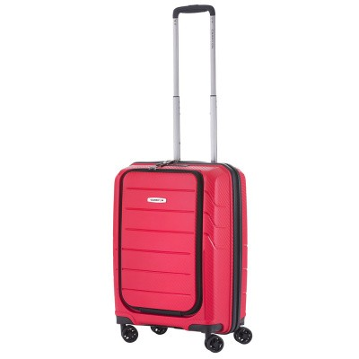 Foto van CarryOn Trolley 55cm Mobile Worker Red