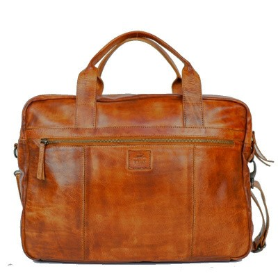 Foto van Laptoptas Bear Design Dani 17& CL36824 Cognac