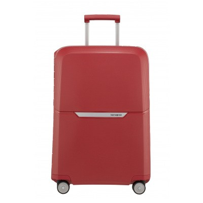 Foto van Koffer Samsonite Magnum Spinner 69/25 Rust Red