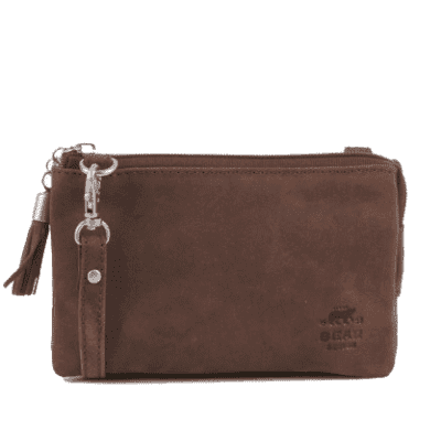 Foto van Bear Design Dark Nature zipbag Brown