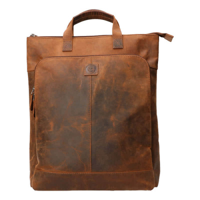 Foto van Laptop Rugtas Leather Design UR 826 Hunter Brown