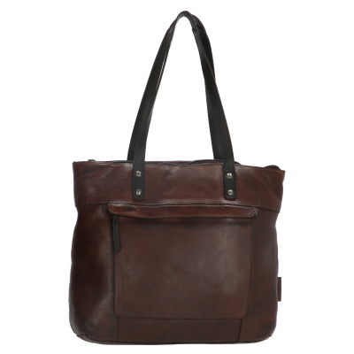 Shopper Micmacbags Highland Park 18348-097 Donkerbruin