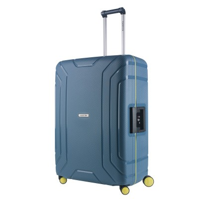 Foto van CarryOn Trolley 75cm Steward Ice Blue