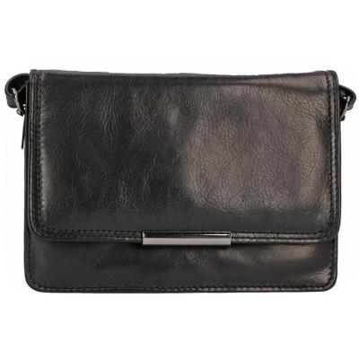 Schoudertas Leather Design CC 1326 Zwart