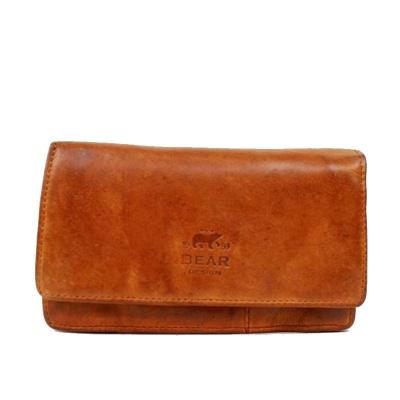 Bear Design Portemonnee CL782 Cognac
