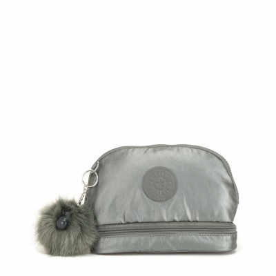 Kipling Multi Keeper Metallic Stony