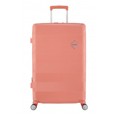 Foto van American Tourister Flylife Spinner 77/28 TSA EXP Coral Pink