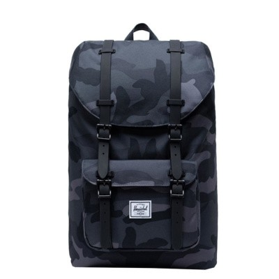 Foto van Rugtas Herschel Little America Mid Volume Night Camo