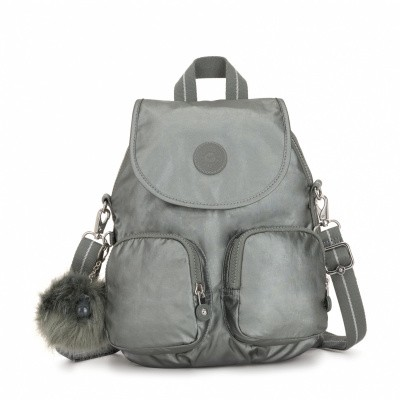 Kipling Firefly Up Metallic Stone