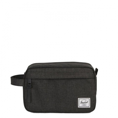 Foto van Toilettas Herschel Chapter Black Crosshatch