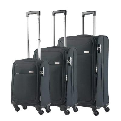 CarryOn Trolleyset 3pcs AIR Black