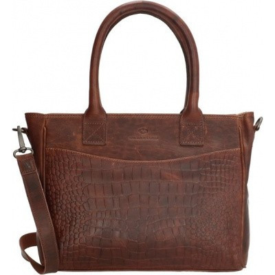 Foto van Handtas Micmacbags Everglades M Dark Brown