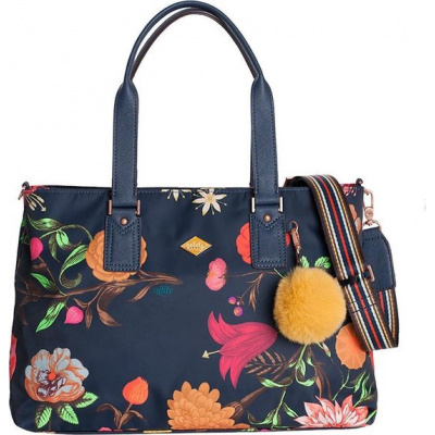 Oilily Carry All schoudertas M navy night