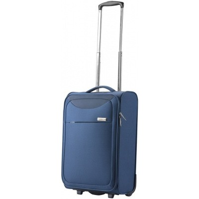 Foto van CarryOn Trolley 55cm Ultra light 2wheels AIR Blauw