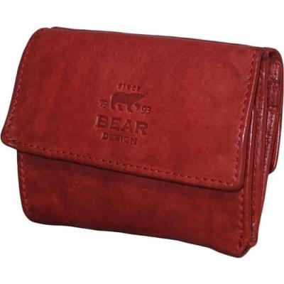 Portemonnee Bear Design Cow Lavato wallet 14618 Rood